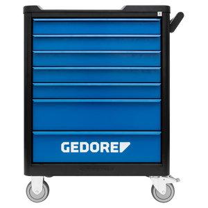 Įrankių vežimėlis Smartline BLACK su 147 įrankiais, Gedore