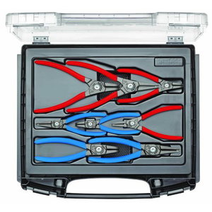 Set of circlip pliers 8 pcs in i-BOXX 72, Gedore