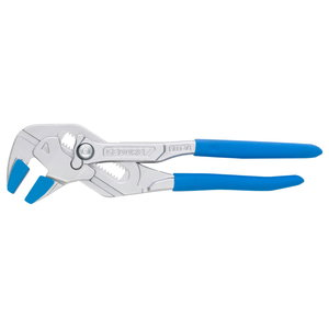 Plier wrench TC 185mm HEX 40mm, 4 jaw covers, Gedore