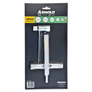 Spark plug wrench set, Arnold