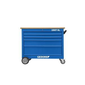 Mobili  įrankių spintelė XL su 5 stalčiais 985x1200x625 mm, Gedore