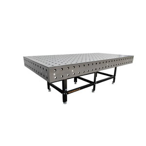 Welding table SSTW 80/35M, mat.stainless steel 1.4301, TEMPUS Holding GmbH