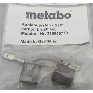 Carbon brush set cut-off WE/WEV 15-150, Metabo