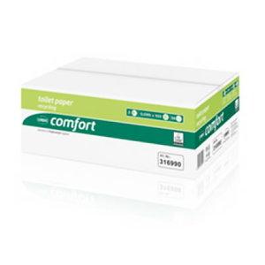 Tualettpaber  Comfort Compact/ 2- kihti/ 36 x 100 m, Wepa