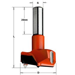 Hingepuur 15x57.5 S=10x26 HM LH, CMT