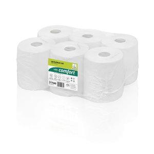 Rullpaber  Comfort/ 1-kiht/ 6 x 300 m/ Centerfeed, Wepa