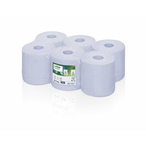 Papīra dvieļi Comfort blue 6 x 150 m CF1, Satino