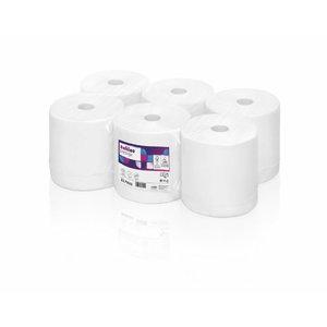 Papīra dvieļu ruļļi,ļ Prestige Autocut, 2-ply/ 6 x 150 m PT1, Satino