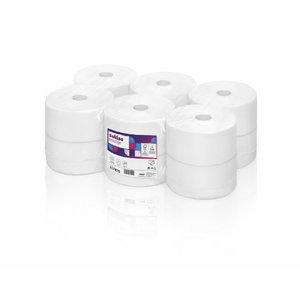 Toilet paper Prestige, 2- ply, 12 x 120 m JT1, Satino