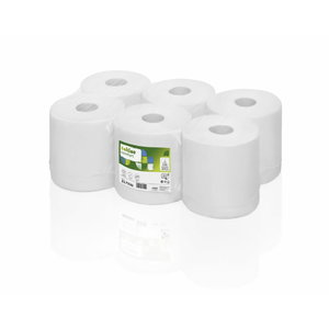 SuperSoft paper towel roll, 1- ply, 275 m, Satino