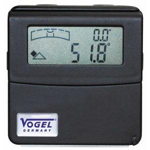 Electr. Digital Angle-Sensor with 90° swiveling LCD display, Vögel