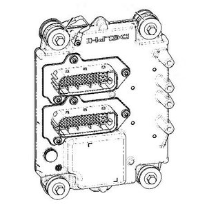 Computer ECU 81kw T4i service replacement, JCB