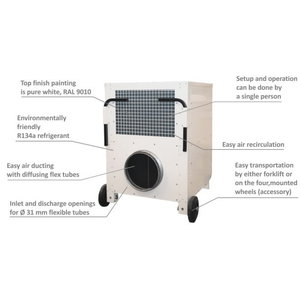 Õhukonditsioneer AC 24 / 6kW, 2.180 m3/h, Master