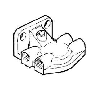 Head fuel filter, JCB