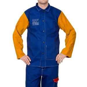 Yellowjacket® blue flame retardant welding jacket, Weldas