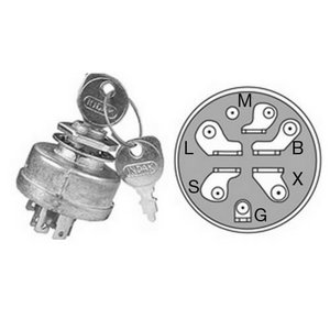Ignition lock, MURRAY, BBT