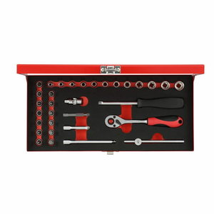 Padrunite kmpl 1/4´´ 4-13mm 32tk R49004033, Gedore RED