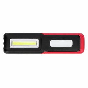 Įkraunamas šviestuvas  2x 3W LED  USB, Gedore RED