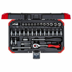 Padrunite kmpl 1/4´´ 4-13mm 33tk R49003033, Gedore RED