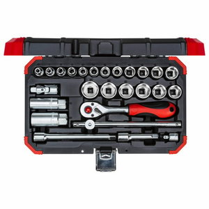 Padrunite kmpl 3/8´´ 6-24mm 26tk R59003026, Gedore RED