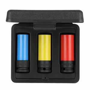 Impact socket set 1/2 3pcs R63043003, Gedore RED