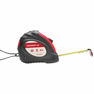 Tape measure l.8m tape-w.25mm class.II R94550008, Gedore RED