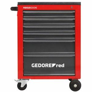 Tööriistakäru MECHANIC 6 sahtlit R20150006, Gedore RED