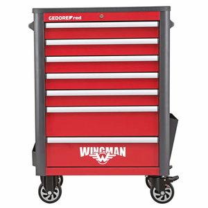 Įrankių vežimėlis WINGMAN 7stalčiai, 1034x724x470 R20200007, Gedore RED