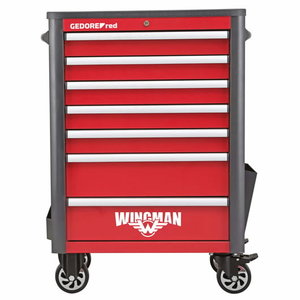 Instrumentu ratiņi WINGMAN 7 atvilktnes R20200007, Gedore RED