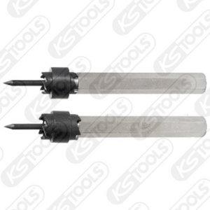 HSS keevituspunkti puur/frees 10x72mm, KS Tools