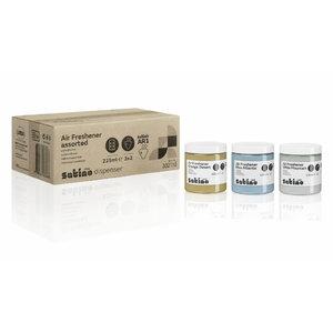 Õhuvärskendaja, erinevad lõhnad, 6 x 225 ml, Satino