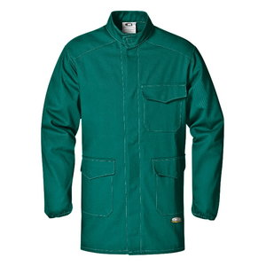 Welders long jacket, green, Sir Safety System