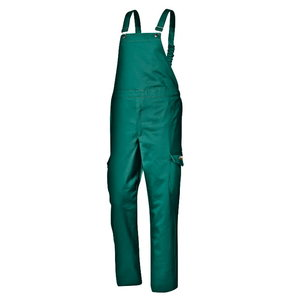 Полукомбинезон для сварщика, зелёный, 48 размер, SIR