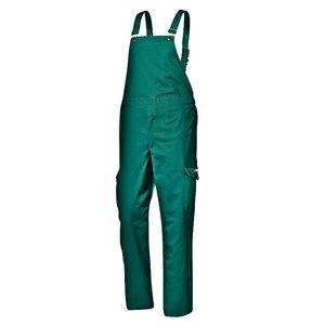 Полукомбинезон для сварщика, зелёный, 50 размер, SIR