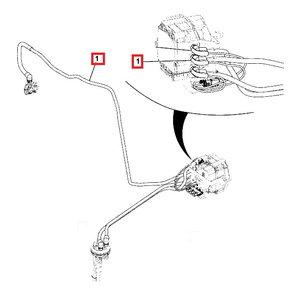 Pressure hose Adblue T4F, JCB