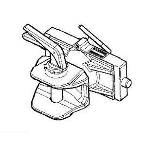 Coupling manual pin, JCB