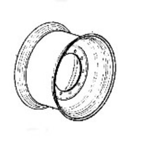 Rhim wheel TW20Bx30, JCB
