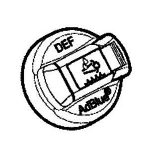 Korķis adblue 40mm T4F, JCB