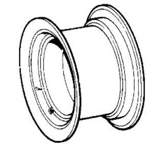 Rim wheel, JCB