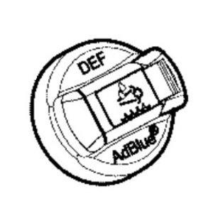 AdBlue paagi kork 40mm T4F, JCB