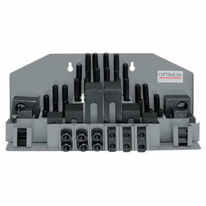 Clamping tool kit SPW 10  58pcs, Optimum