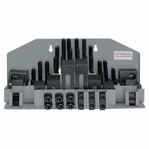 Clamping tool kit SPW 10  58pcs, Optimum