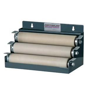 Carrying rollers for material stands