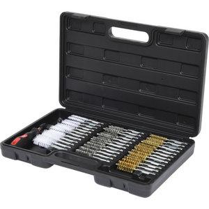 Cleaning brush set, 38 pcs, KS Tools
