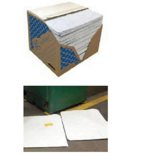 Sorbent pad 41x46cm, 100pc/pack, for oil based liquids, Orion