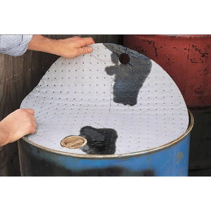 Sorbent pads for 200L drum. 25pcs, Orion