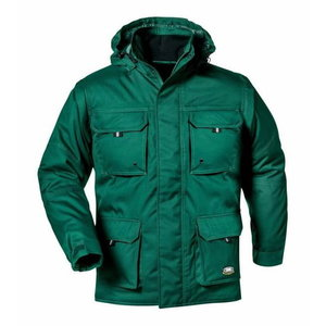 Ziemas jaka Nassau, zaļa XL, Sir Safety System
