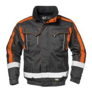 Ziemas jaka 4-in-1 Contender, pelēka/oranža, M, , Sir Safety System
