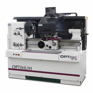Metal lathe OPTIturn TZ 4V, Optimum