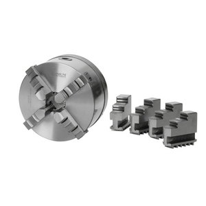 Four-jaw lathe chuck Ø160 mm Camlock DIN ISO 702-2 No. 4, Optimum